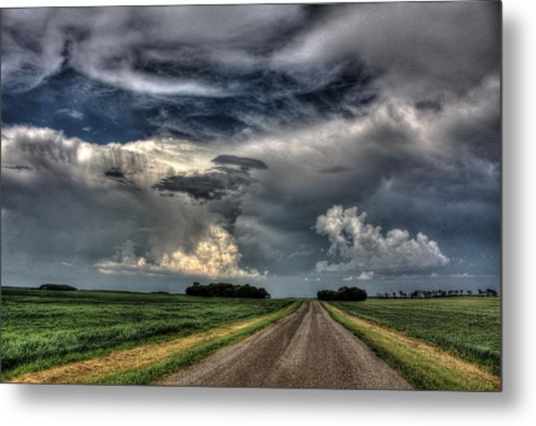 Country Roads Metal Print
