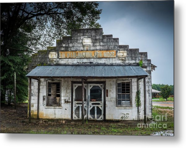 Country Store In The Mississippi Delta Metal Print