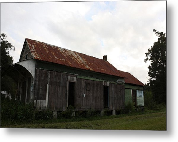 Country Store Two Metal Print by Paula Coley