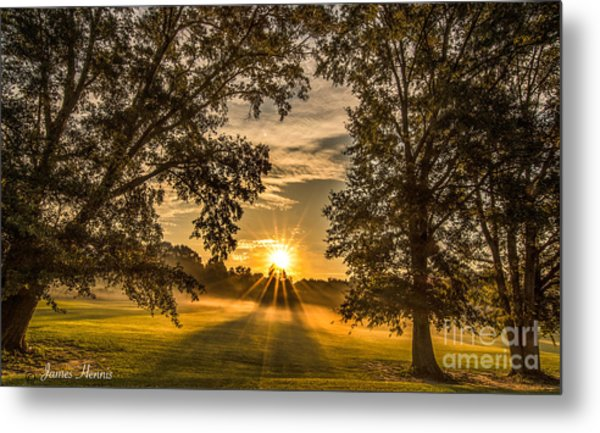 Country Time Rise Metal Print