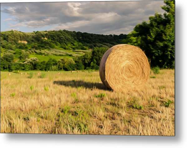 Countryside Of Italy 3 Metal Print by Andrea Mazzocchetti