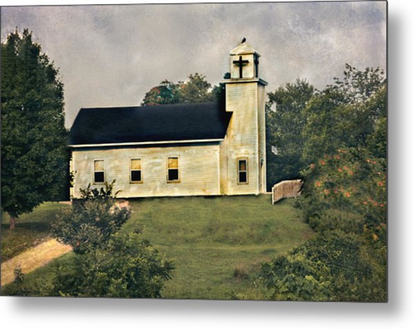 County Chruch Metal Print