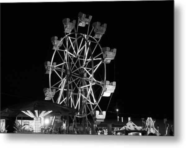 County Fair Fun Metal Print