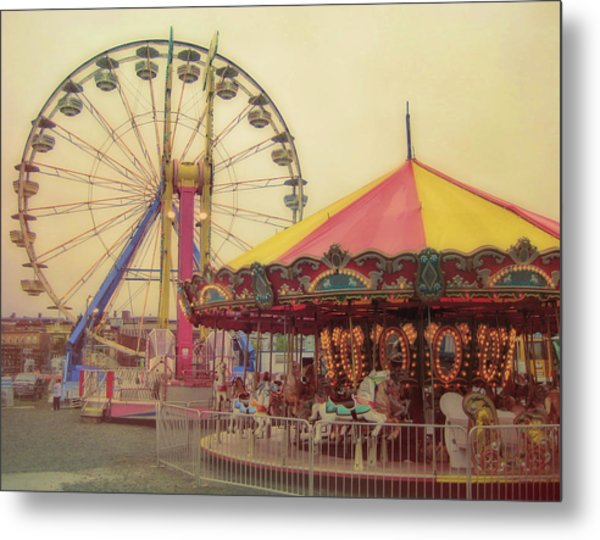 County Fair Metal Print by JAMART Photography