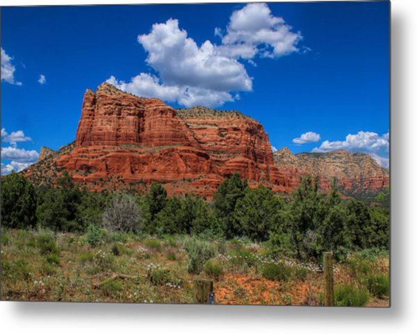 Courthouse Butte Metal Print