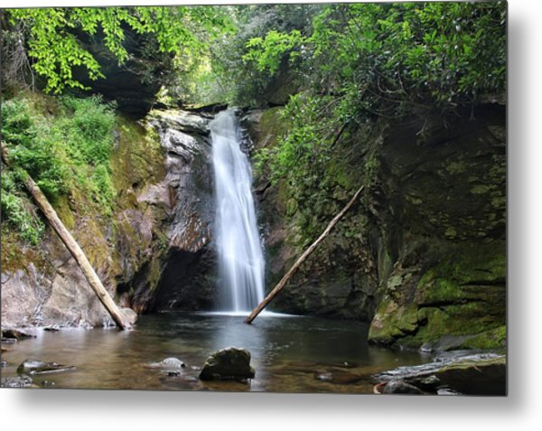 Courthouse Falls Metal Print
