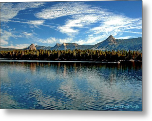Courtright Reservoir Metal Print