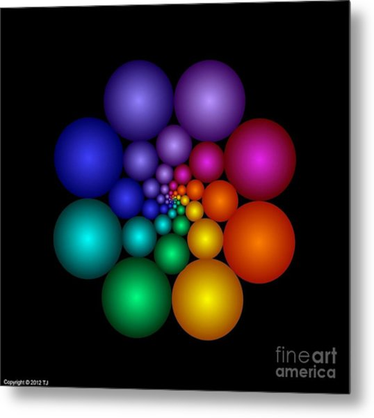 Covalent 8 Metal Print