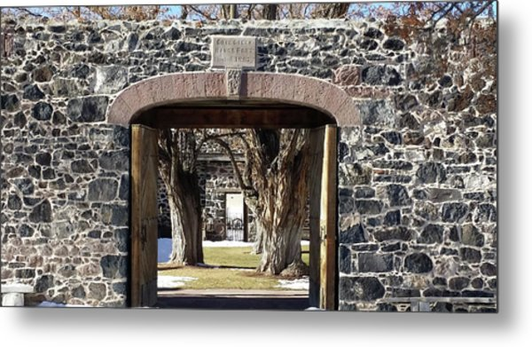 Cove Fort, Utah Metal Print