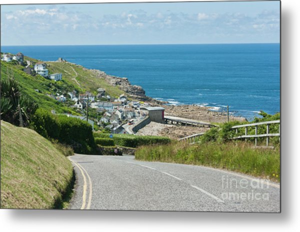 Cove Hill Sennen Cove Metal Print