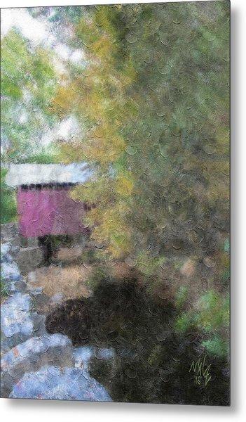 Roddy Road Covered Bridge Metal Print