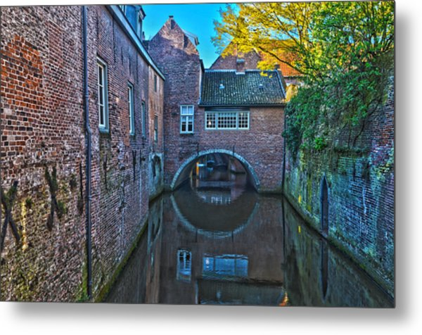 Covered Canal In Den Bosch Metal Print