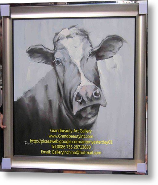 cow Metal Print by Darren
