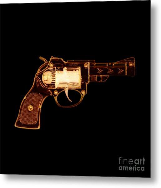 Cowboy Gun 002 Metal Print