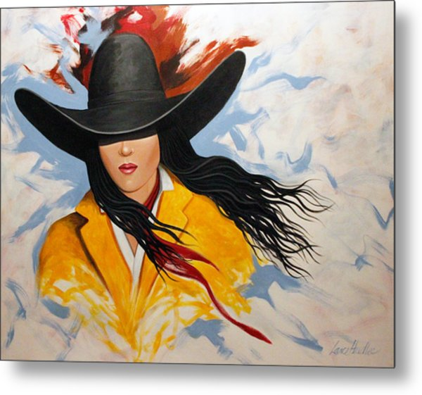 Cowgirl Colors #3 Metal Print
