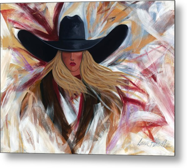 Cowgirl Colors Metal Print