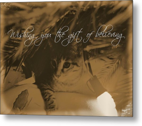 Cozy Spot Quote Metal Print by JAMART Photography
