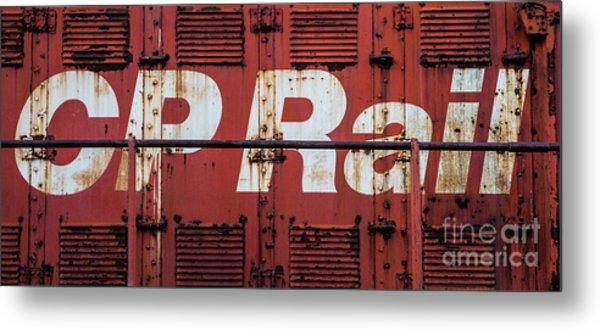Cp Rail Metal Print