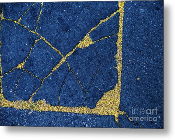 Cracked #8 Metal Print