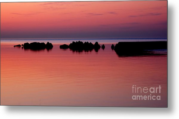 Cracking Dawn Metal Print