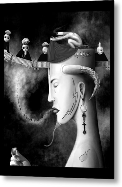 Cradle The Inspiration Metal Print by Will Crane