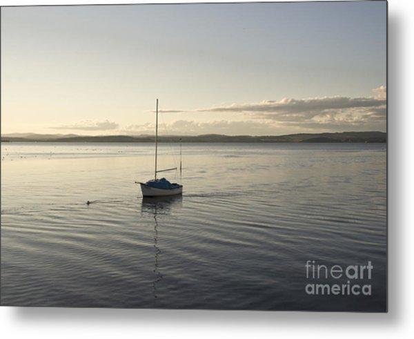 Cramond. Boat. Metal Print