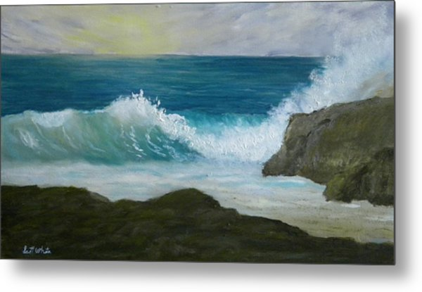 Crashing Wave 3 Metal Print