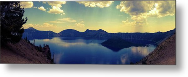 Metal Print featuring the photograph Crater Lake 2 by Pacific Northwest Imagery