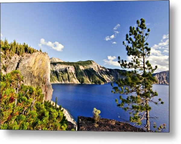 Crater Lake II Metal Print
