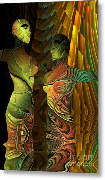 Crazy Dance -2- Metal Print