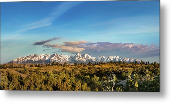Crazy Mountains Metal Print
