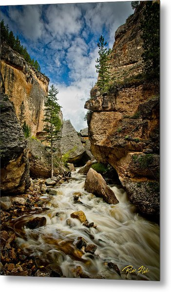 Crazy Woman Canyon Metal Print