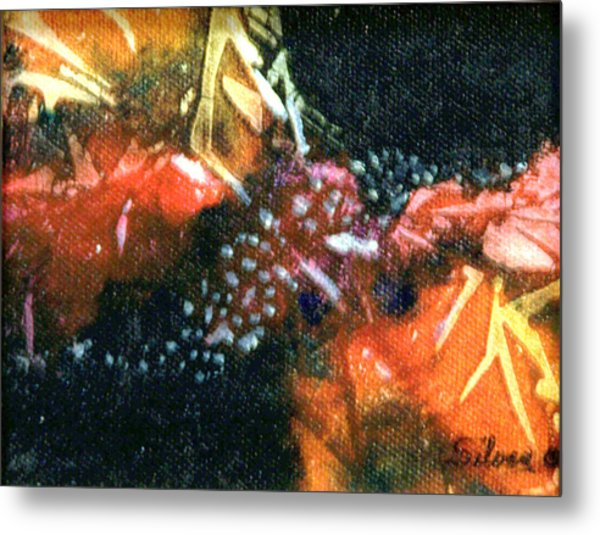 Creation Metal Print by MtnWoman Silver