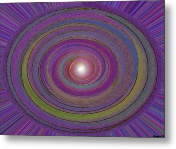 Creation Of The World Metal Print by Sher Magins