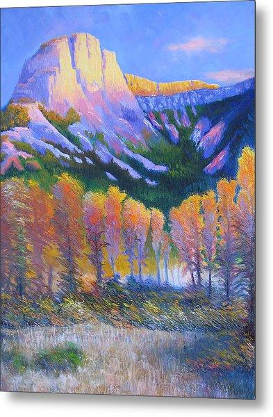 Creator Mountain Metal Print by Gregg Caudell