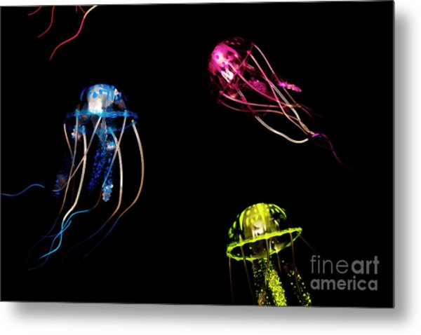 Creatures Of The Deep Metal Print