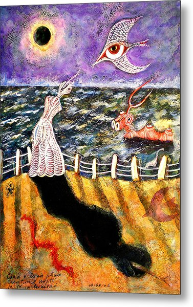 Creatures Of The Night Metal Print by Ion vincent DAnu