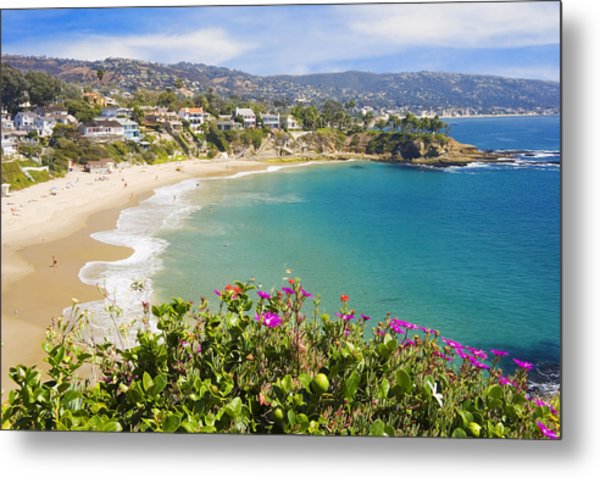 Crescent Bay Laguna Beach California Metal Print