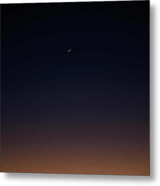 Metal Print featuring the photograph Crescent by Eric Christopher Jackson