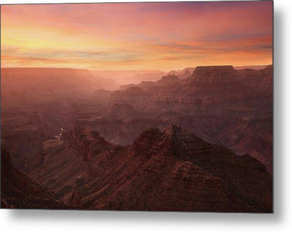 Crimson Canyon Metal Print by Adam Schallau