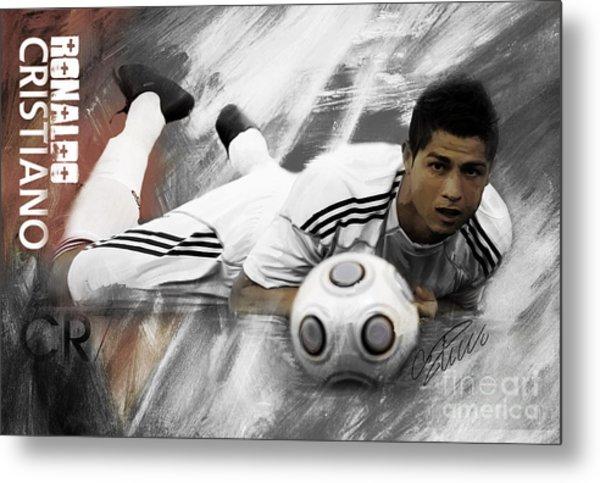 Cristiano Ronaldo 093 Metal Print