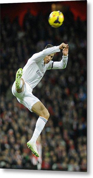 Cristiano Ronaldo 30 Metal Print