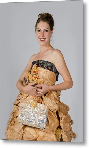 Cristina In Bring Your Own Bags Metal Print