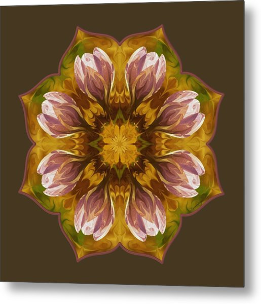 Metal Print featuring the digital art Crocus by Lynde Young