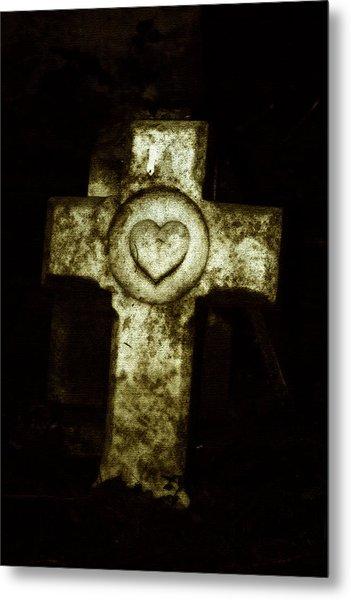 Cross My Heart Metal Print by Carl Perry