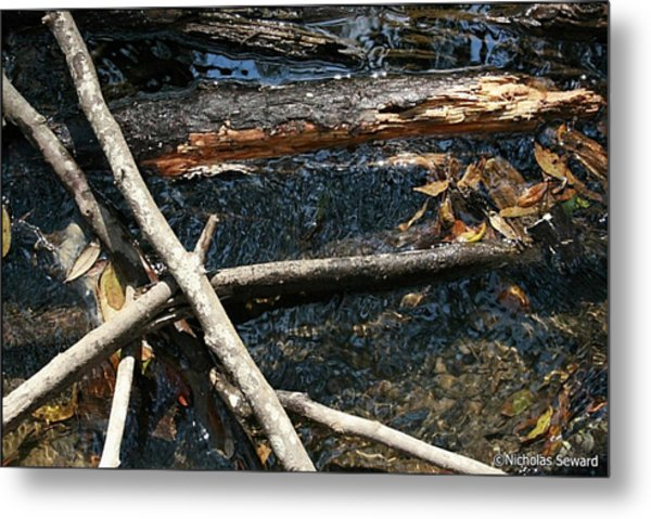 Crossing Waters Metal Print by Nicholas Seward