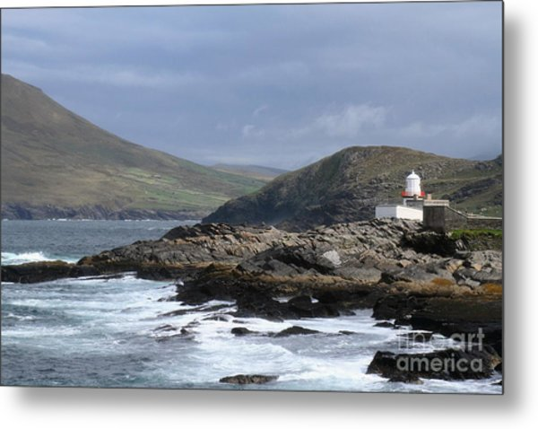 Crowell Point Lighthouse Metal Print