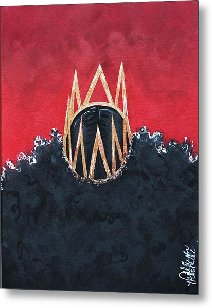 Crowned Royal Metal Print