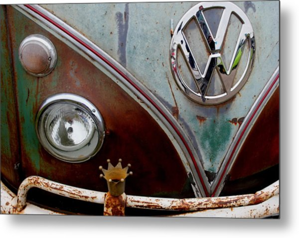 Crowned - Vw Metal Print