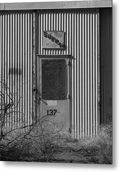 Crows Landing Base Supply Metal Print by Troy Montemayor